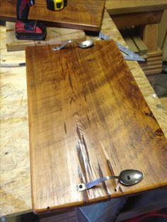 Barn wood serving trays