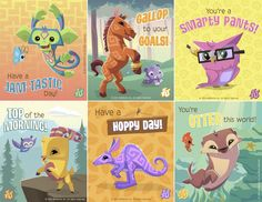 Make lunch totally JAM-TASTIC with these Lunchbox Notes from Animal Jam! Free to download! Have fun and JAM ON!