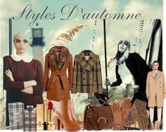 Autumn fashion collage created via Polyvore!