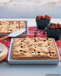 """Strawberry """"Bandanna"""" Tart 