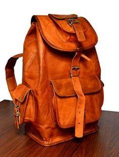 3acf1d0a6f3cf ADIMANI Handmade Vintage Leather Backpack Vintage Leather Backpack