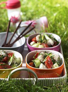 Gazpacho-Fisch-Salat - Rezepte: Sommer-Salate - 25 - [ESSEN & TRINKEN]