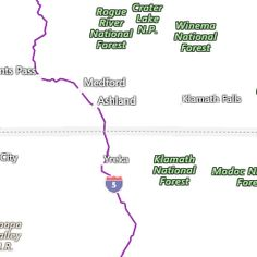 Medford OR Interactive Weather Radar Map AccuWeathercom - Accuweather us radar map