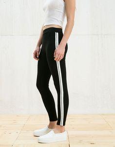 BSK leggings with circular side bands