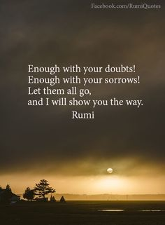 Explore inspirational, thought-provoking and powerful Rumi quotes. Here are the 100 greatest Rumi quotations on life, love, wisdom and transformation. Rumi Love Quotes, Wise Quotes, Inspirational Quotes, Poem Quotes, Kahlil Gibran, Rumi Poesie, Jalaluddin Rumi, Quotations, Qoutes