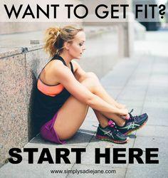 Want to start your fitness journey?? Start HERE!! www.simplysadiejane.com