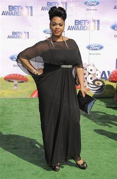 Jill Scott looking glam at BET awards