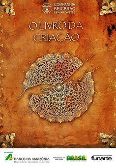 O Livro da Criação(2012) - Espetáculo adulto sobre filosofia, misticismo e tecnologia.
