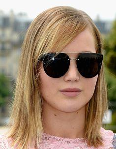 Jennifer Lawrence's Sleek Chop