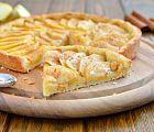 Torta de manzana acaramelada