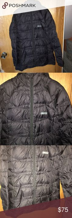 """Cordillera REI Goose Down Jacket Woman's Medium Woman's medium. Measures apx. 31"""" long. Hooded. 80/20 Goose Down insulation. The right pocket is missing the zipper pull so pocket cannot be closed. In otherwise great condition. Cordillera Jackets & Coats Puffers"""
