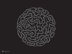 Brain Circle by George Bokhua - Dribbble
