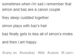 My one canon OTP couple
