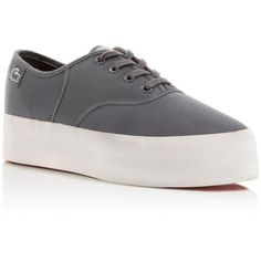 Lacoste Rene Grey Platforms. Get the must-have platforms of this season! These Lacoste Rene Grey Platforms are a top 10 member favorite on Tradesy. Save on yours before they're sold out!