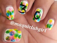 MAQUICLUB GIRL: BUBBLE NAIL ART (My Birthday Manicure)