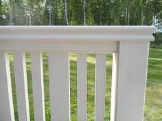 Bildresultat för verandaräcke trä