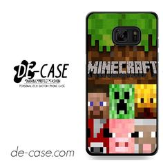 Minecraft Character DEAL-7263 Samsung Phonecase Cover For Samsung Galaxy Note 7