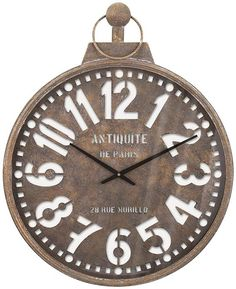 barrett wall clock pocket watch wall clock metal wall clock round clock