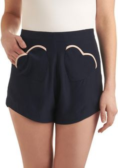 "Rachel Antonoff ""Wear Your Heart Shorts"""