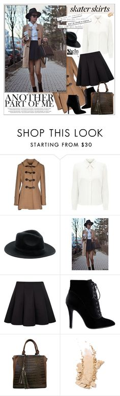 """Skater Girl"" by aurora-australis ❤ liked on Polyvore featuring KOCCA, Eastex, Sheinside and skaterSkirts"