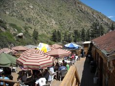 The Mishawaka,  Outdoor Amphitheater in Bellvue, CO