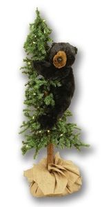 Pre Lit Christmas Tree Black