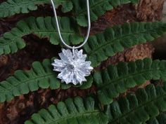 Check out Silver pendant ~ Fine Silver Daisy ~ nature inspired gift, ladies birthday gift, Christmas stocking, on silverwindsjewellery