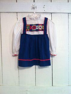 Vintage Children's Clothes/Colorful by BirdsandShipsVintage, $25.00