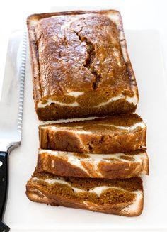 Pumpkin Bread | chefsavvy.com Pumpkin Cream Cheese Bread, Moist Pumpkin Bread, Baking Recipes, Dessert Recipes, Desserts, Dessert Salads, Bread Recipes, Best Chocolate Cake, Pumpkin Cheesecake