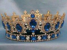 Sapphire crown.