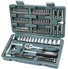 Oferta: 24.95€ Dto: -25%. Comprar Ofertas de Mannesmann M29166 - Maletín con juego de llaves de vaso y puntas de destornillador (130 piezas) barato. ¡Mira las ofertas!