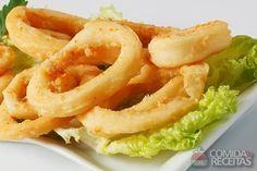 Receita de Anéis de cebola em receitas de legumes e verduras, veja essa e outras receitas aqui!