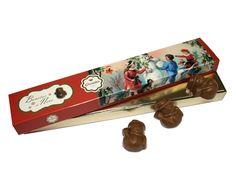 Os Bonecos de Neve da Arcádia Casa do Chocolate estão de volta. Com o tradicional sabor de chocolate de leite, só vão derreter na altura em que alguém os provar. Quem vai ser o primeiro?
