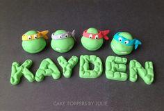 Custom Cakes by Julie: Teenage Mutant Ninja Turtles