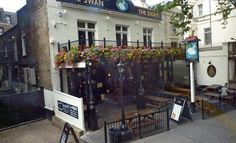 One of my favorite pubs in London when I was studying abroad, The Swan :)