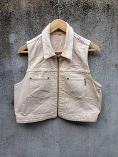 Guess Vest Guess Jeans Size l - Vests for Sale - Grailed