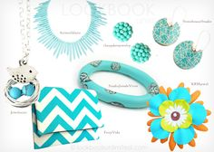 Lookbook Unlimited: Turquoise Accessories
