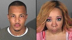 "T.I. and Tameka ""Tiny"" Cottle The newlyweds were detained in September after L.A. police smelled marijuana coming from their car and found Cottle to be in possession of ecstasy. T.I. returned to jail in October to begin an 11-month prison sentence for violating his probation."