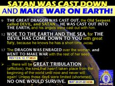 Satanism in mass media | with the throwing down of satan and his angels to this earth a ll ...