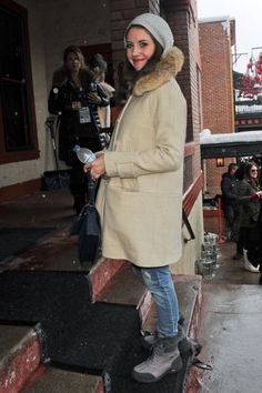 Alison Brie and UGG Women's Adirondack Boot II Photograph