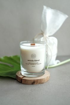 KNOT Stylish Long Burning Hand Poured Soy Eco Candle Scented by Natural Essential Oils. Made by KNOTinterior