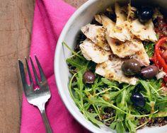 Tuna Quinoa Bowl Recipe by Giada De Laurentiis http://www.giadaweekly.com Giada De Laurentiis
