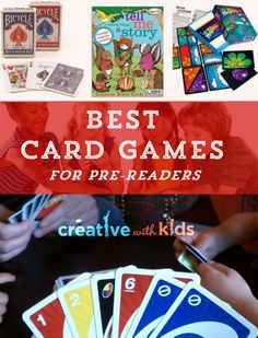 These card games for kids are family favorites - they're fun for young kids all the way up to grown ups and they're the perfect quick connection activity. Family Card Games, Fun Card Games, Card Games For Kids, Video Games For Kids, Fun Activities For Kids, Family Activities, Happy Mom, Happy Kids, Things To Do With Boys