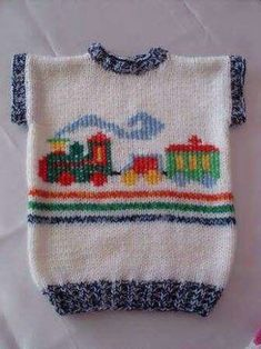 This Pin was discovered by Zeh Baby Boy Knitting Patterns, Knitting For Kids, Crochet For Kids, Knitting Stitches, Baby Patterns, Crochet Baby, Knitted Baby Cardigan, Knit Baby Sweaters, Knitted Baby Clothes