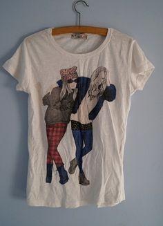 Kup mój przedmiot na #vintedpl http://www.vinted.pl/damska-odziez/bluzki-z-krotkimi-rekawami/8281048-modna-koszulka-s