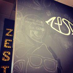 Outlinin' and stuff. #Zesty