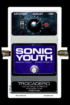 Sonic Youth, Bardo Pond and Erase Errata at the Trocadero, by Jim Altieri