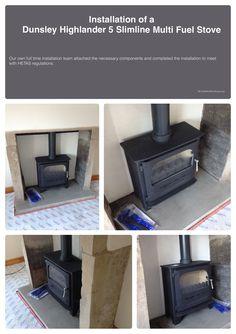 #Stove #installation #multifuel stove #woodburning stove #huddersfield #yorkshire #home #design #decor #living #chimney #dunsley