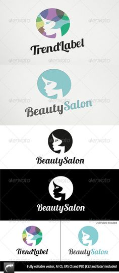Beauty or Fashion	 Logo Design Template Vector #logotype Download it here: http://graphicriver.net/item/beauty-or-fashion-logo/2964023?s_rank=443?ref=nesto