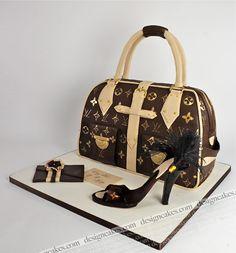 designer hand bag cakes | Designer hand bag cake | Flickr - Photo Sharing!